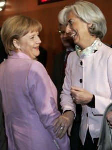 Angela-Merkel-Christine-Lagarde-