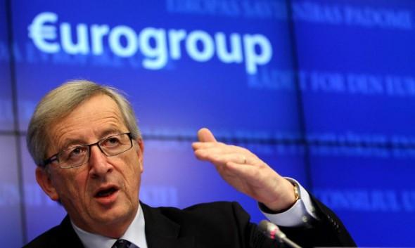 Il Presidente dell'Eurogruppo Jean Claude Juncker