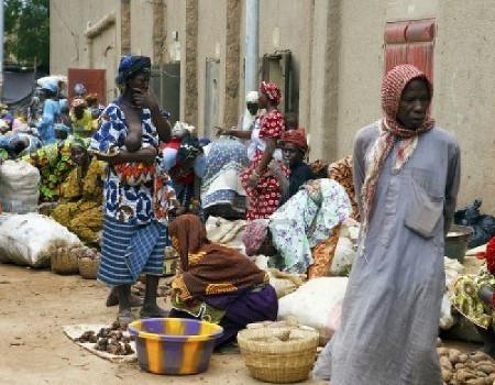 Mali, donne al mercato