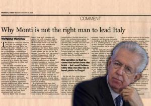 FT Vs Mario Monti