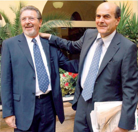 Pierluigi Bersani e Filippo Penati