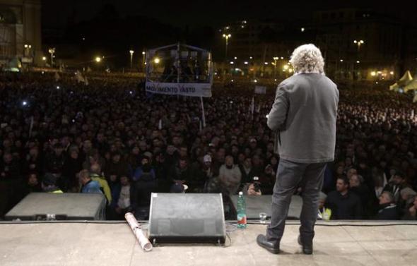 Grillo a Roma