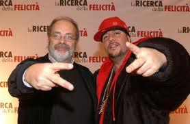 Il critico Marco Giusti (a sinistra)