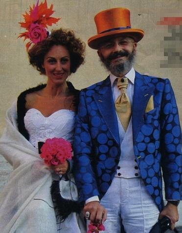 Oscar Giannino elegantissimo il giorno del suo matrimonio